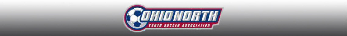 Ohio North Youth Soccer banner
